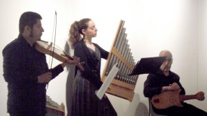 Faculty concert at the 2nd international course on Medieval music performance, Besalú july 2013