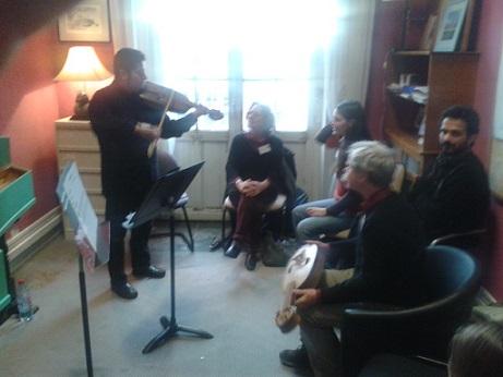 """Lectures and performance at the """"Journées de musiques anciennes, Vanves"""" Paris, November 2013"""