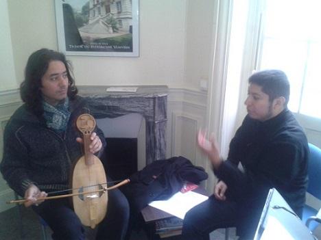 """Lecture """"Journées de musiques anciennes, Vanves"""" Paris, November 2013"""